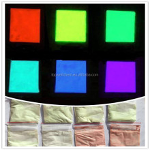 Photoluminescent Pigment Powder for Paints Glowing Pigment for Textile Colorful Dust for Plastic