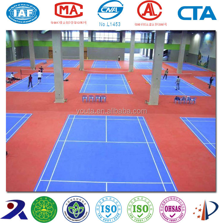 Acrylic paint for badminton court floor and basketball court floor