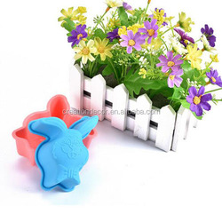 Rabbit silicone cookie baking molds pudding moulds