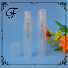 small empty cosmetic container 3ml free perfume sample bottle