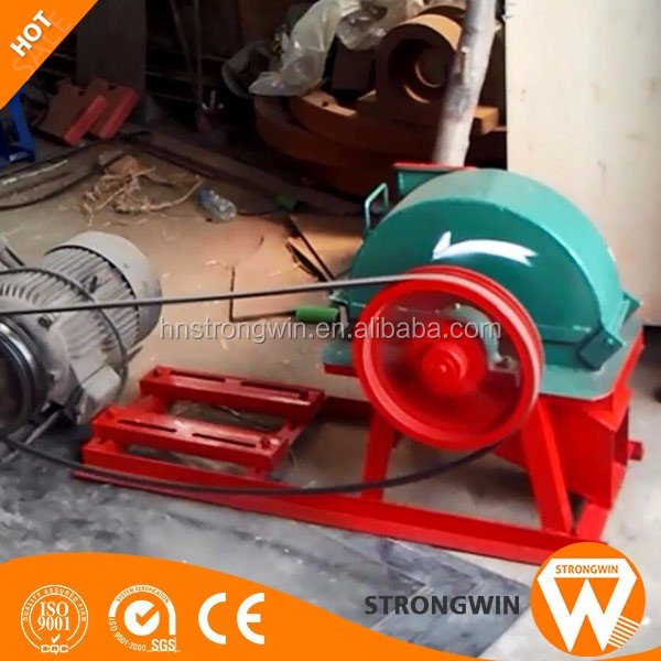 Strongwin wood pellet shaving machine for animal horse bedding