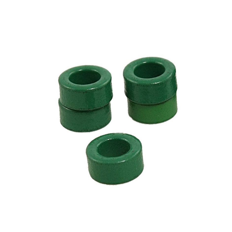 JFBL 2X Hot 10 Pcs Inductor Coils Green Toroid Ferrite Cores 10mm x 6mm x 5mm
