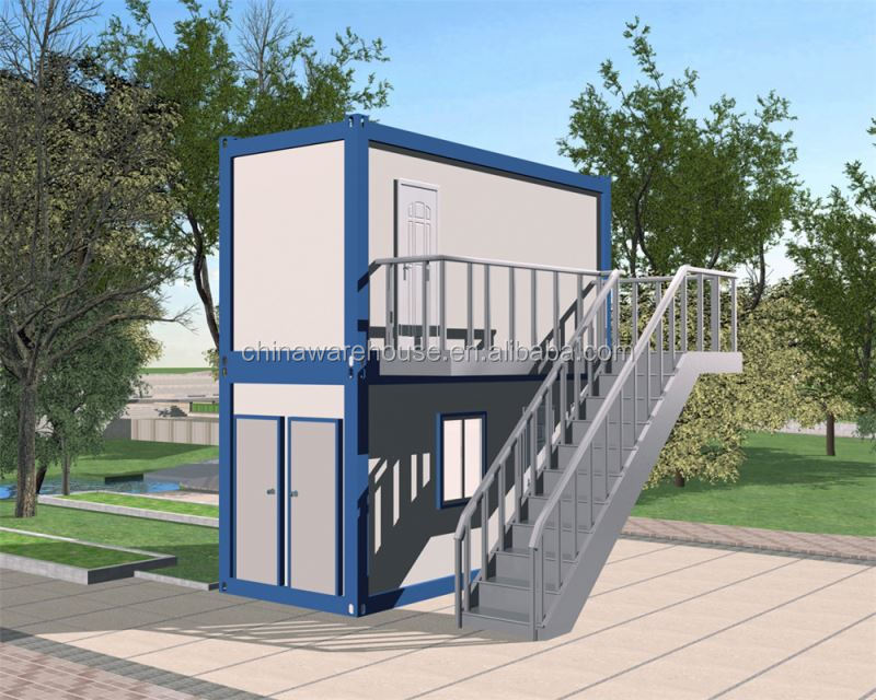 Special 20ft container house with portable cabins bulk pack container house