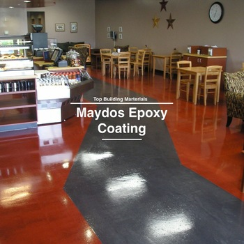 Heavy duty factory epoxy floor resin