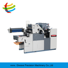 GW470PJS two color continuous computer form offset printing machine with numbering function