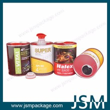 Composite Paper Cans for Engine Oil