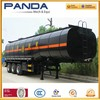 Panda 3 axle bitumen tanker transport vehicle asphalt tank truck trailer bitumen tanker semi-trailer with air suspension