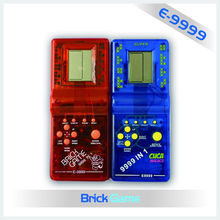 color 9999 in 1 brick game