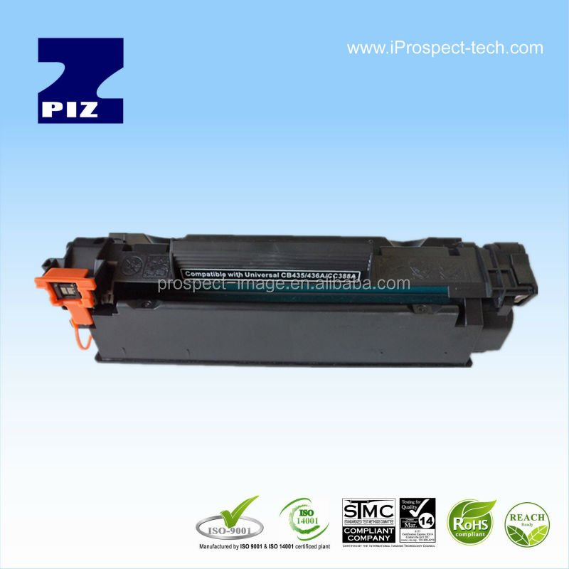 New build BK Compatible full toner cartridge Universal 35A/36A/388A Zhuhai manufacturer laser cartridge toner HP