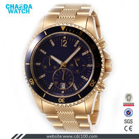 CDX3442 stainless steel swiss sapphire crystal