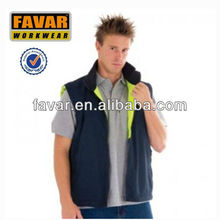 fashionable HiVis Two Tone Reversible boy's Vest