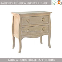 french antique style vintage bedroom living room cabinet storage chest with drawers