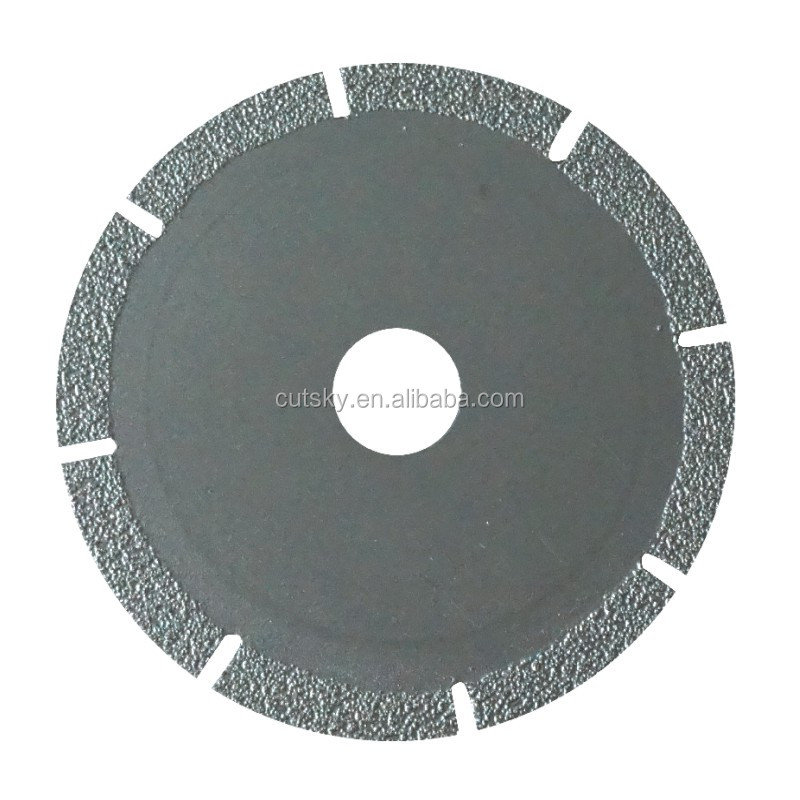 "high quality 4"" 5"" 6"" 7"" 8"" 9"" Vacuum Brazed Diamond Saw Blades"