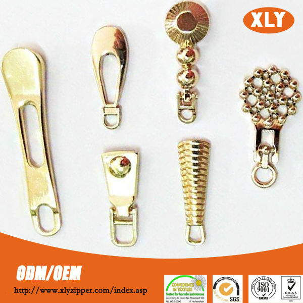 2014 New Designed zipper puller metal zipper puller custom zipper puller hot sale