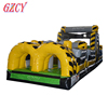 Big jumping castle for children, great inflatable obstacle course slide