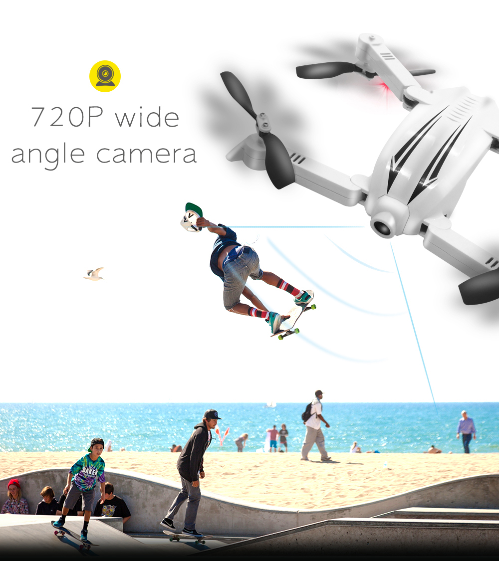 New Style Flytec T13 Rc Flying Drone 2.4g 3D Foldable Selfie Drone With Wifi Fpv Wide Angle Camera VS JY018
