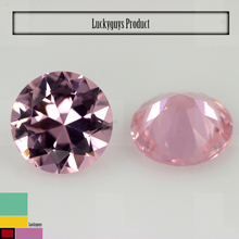 Fashion Diamond Cut synthetic spinel name pink gemstone Nano Spinel