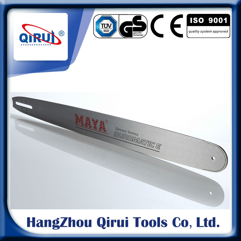 Professional Hard nose bar / Chainsaw spare parts hard nose bar /Hard nose bar for chainsaw