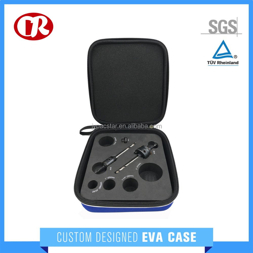 Widely use multi-function zipper case for portable small eva tool case