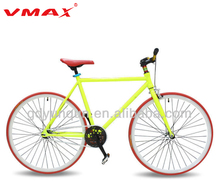Most popular factory 26 inch 700C bike rims steel fixed gear bicycle single speed fixie bike