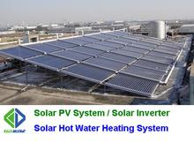 Evacuated tube non pressurized solar collector manufacturer