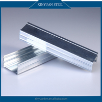 China Supplier Construction Drywall Profiles Wall Ceiling Galvanized Light Steel Keel