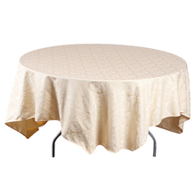 Wholesale disposable plastic cutwork embroidery tablecloths