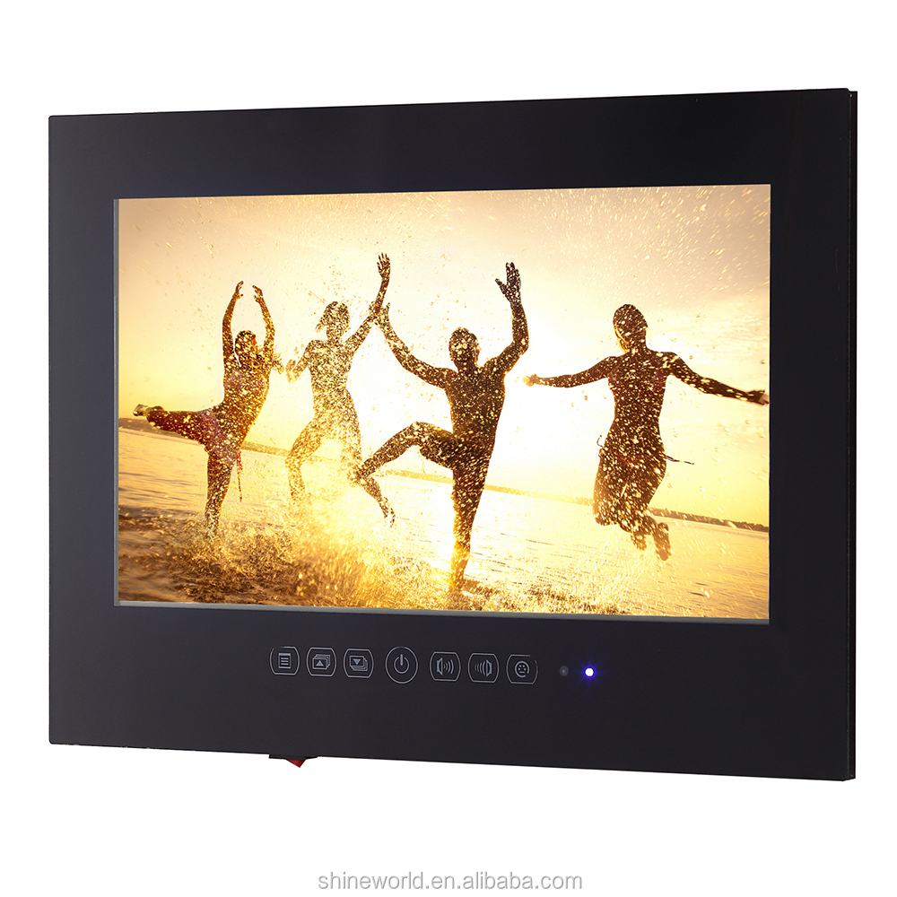 21.5&quot;(22 inch) <strong>1080p</strong> WiFi Frameless LED TV Android 4.3 Smart Bathroom TV Factory Selling