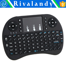 Wireless Air Mouse + Double-sided Keyboard With Built-in Microphone And Speaker