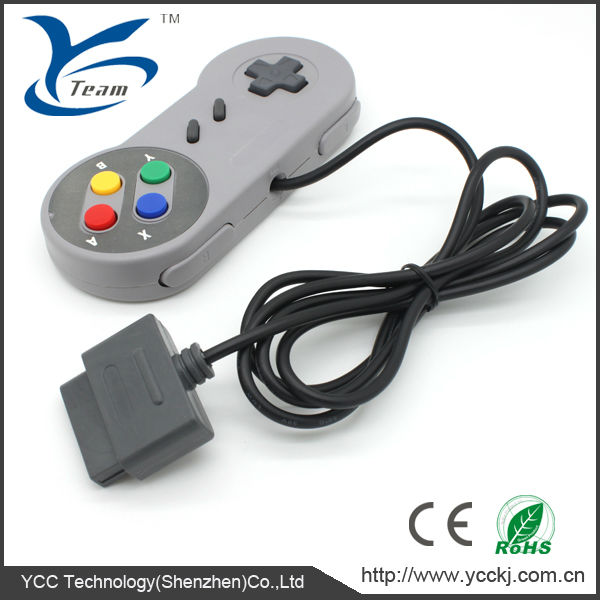 For Super nintendo snes controller with usb and original connector game pad