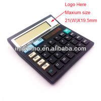 12 digits desktop solar powered calculator