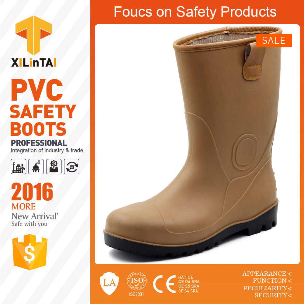 wholesale industrial shoes, safety boots, PVC rain boots for Adult