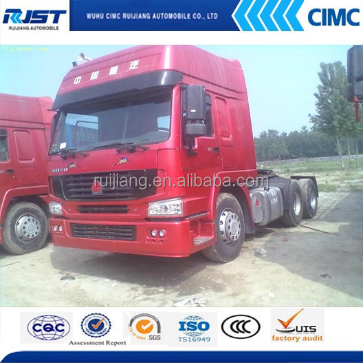 Sinotruck Howo used tractors for sale/6*4 howo tractor truck for sale
