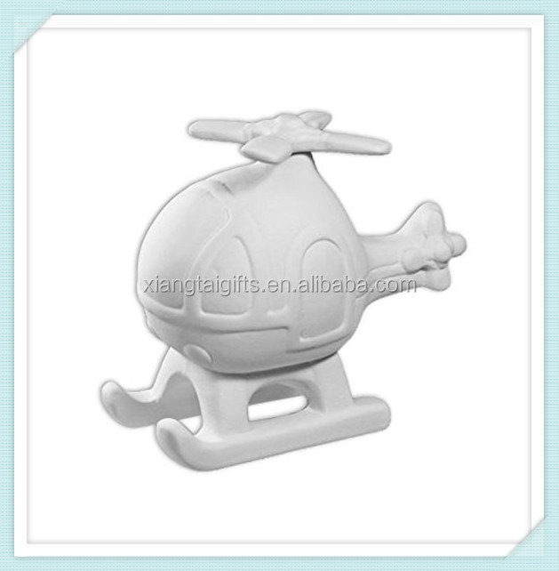 Bisque Chopper - unpainted Ceramic - Unfinished Low-Fire Ceramic Bisque
