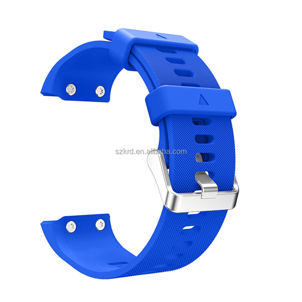 Silicone Strap Replacement Watch Band With Tools For Garmin Forerunner 35 FR35 Watch Strap Accessories