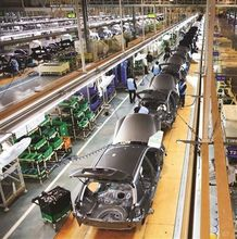 cars assembly line Production Line from JDSK