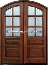 Arch French Double Interior Doors Design DJ-S9198MA
