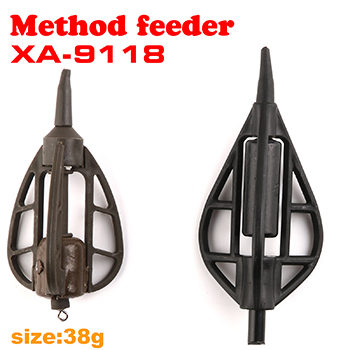 Stock available wholesale Long cast back lead carp fishing method feeder