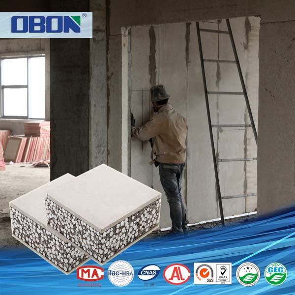 OBON reinforced aluminum stone honeycomb core sandwich panel outdoor