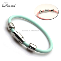 low price silicone balance bracelet for boys and girls