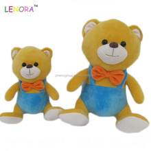 Latest arrival custom design clothes stuffed plush animal toys bear with good offer