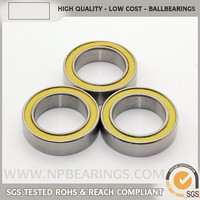Free sample longest spin rubber seal plastic waterproof bearings