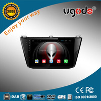 ugode 10.1 inch Android quad core car DVD for Volkswagen Tiguan 2015 car dvd player