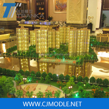 Large residential architectural scale models with advanced architectural model making machine