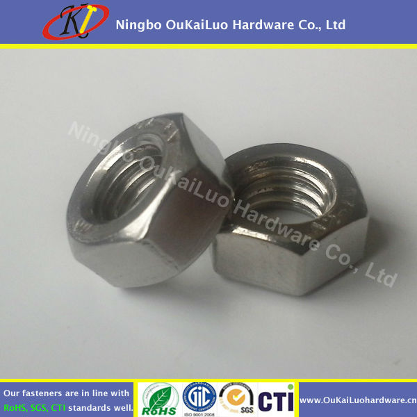 DIN 934 Stainless Steel Hex Nut