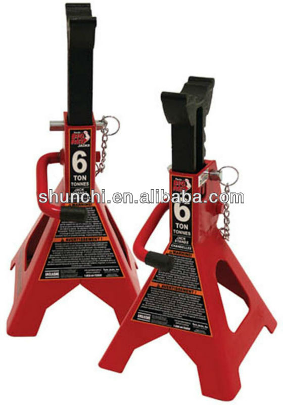 6 Ton Double Locking Jack Stands (Sold in Pairs)