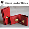 factory wholesale leather wallets purse women's red lether wallets purse
