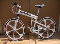 Amazing hummer frame 24 speed aluminum trek mountain bicycle fold mtb
