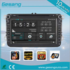 Wince 6.0 car navigation and entertainment system with rear camera TV BT wifi Dvd car player for VW series