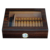 12 Count Walnut Gloss Finish Cigar Travel Case with Spanish Cedar Lining